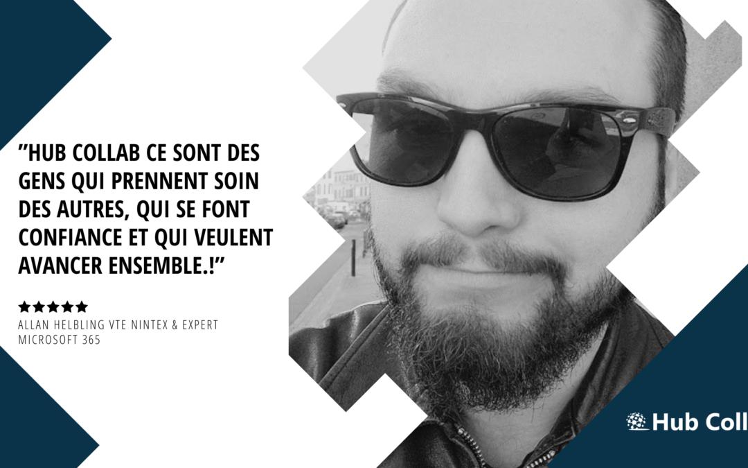 [Meet the Team] Rencontrez Allan Helbling vTE Nintex & Expert Microsoft 365