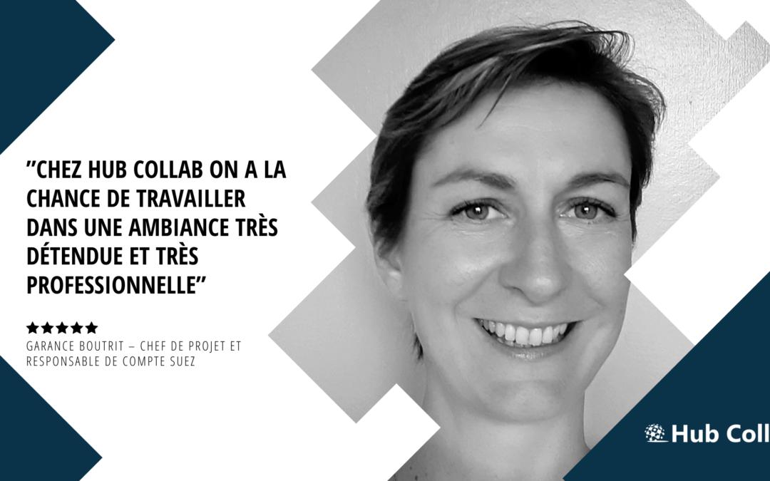 [Meet the team] Rencontrez Garance Boutrit – Chef de Projet et Responsable de compte Suez
