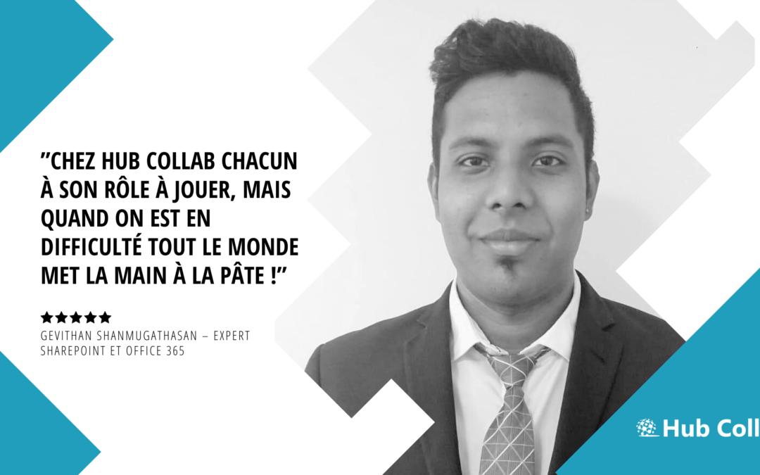 [Meet the Team] Rencontrez Gevithan Shanmugathasan – Expert SharePoint et Office 365