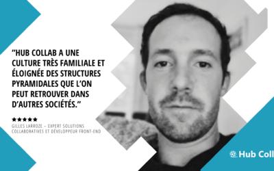 [Meet the Team] Rencontrez Gilles Larroze – Expert Solutions Collaboratives et Développeur Front-end