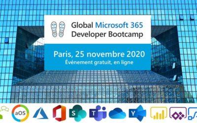 Global Microsoft 365 Developer Bootcamp – Atelier Cloud Dev : Azure functions, PowerShell, SPFx et MS Graph par Gilles Larroze
