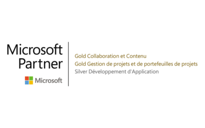 Hub Collab devient Microsoft Gold Partner
