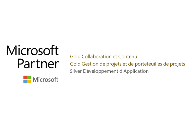 Hub Collab devient Microsoft Gold Partner