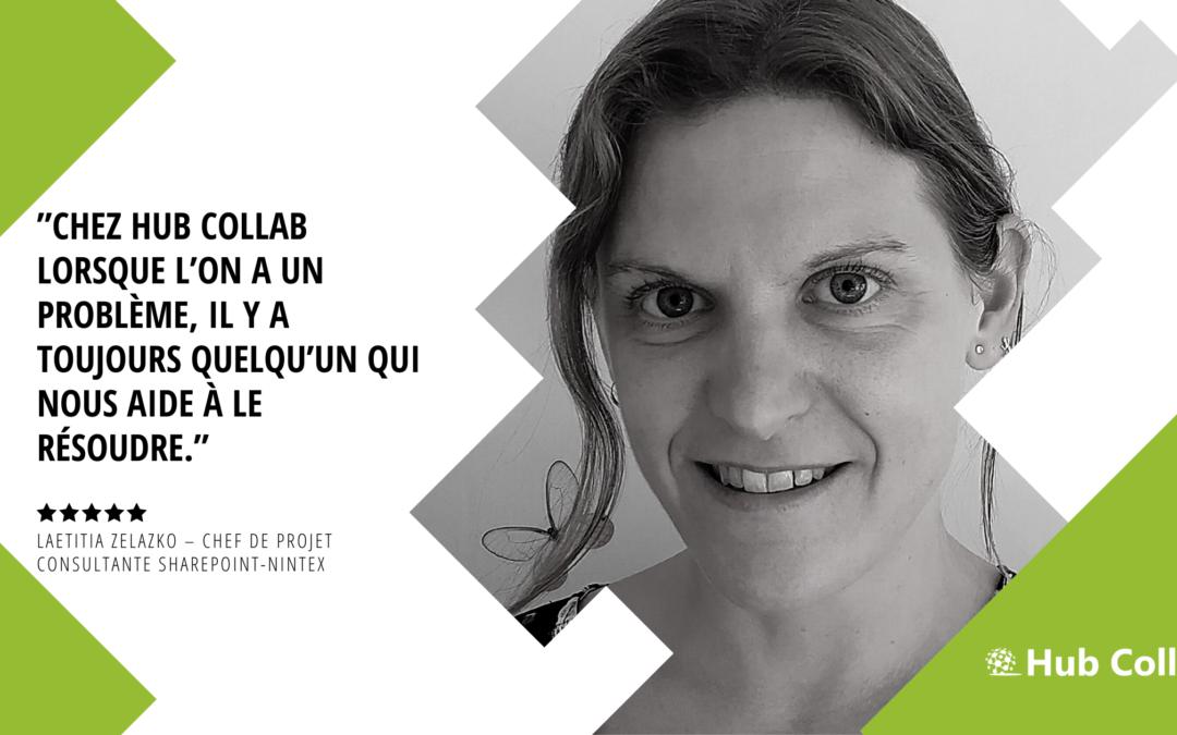 [Meet the Team] Rencontrez Laetitia Zelazko – Chef de projet – Consultante SharePoint-Nintex