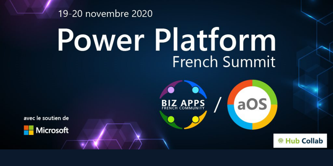 Hub Collab participe à la première édition du Power Platform French Summit 100% digitale