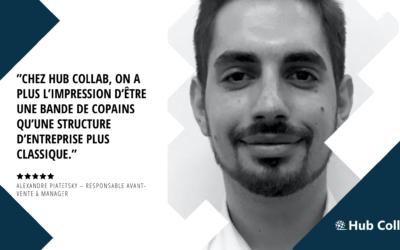 [Meet the Hub Collab Team] Rencontrez Alexandre Piatetsky – Responsable Avant-vente & Manager
