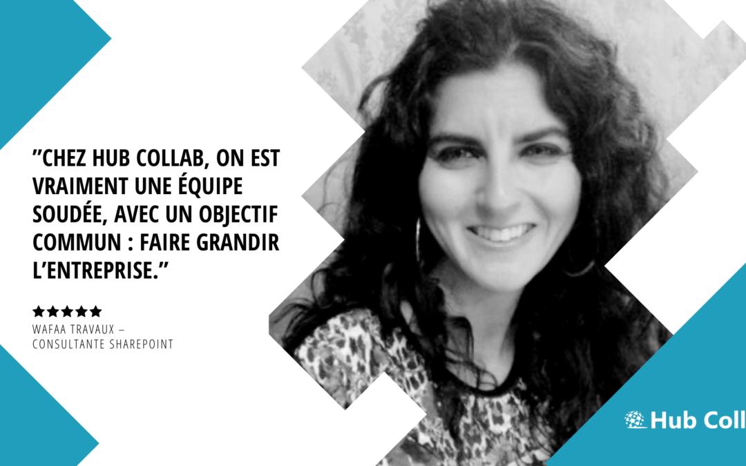 [Meet the Hub Collab Team] Rencontrez Wafaa Travaux – Consultante SharePoint