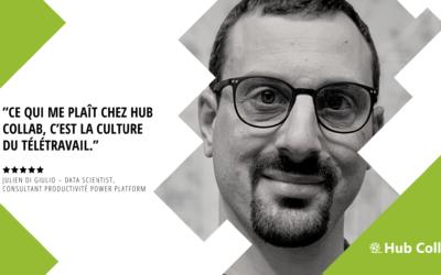 [Meet the Team] Rencontrez Julien Di Giulio – Data Scientist, Consultant Productivité Power Platform