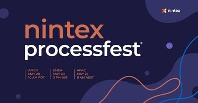 Nintex organise sa conférence annuelle, Nintex ProcessFest 2021 le 20 mai prochain