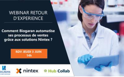 [Webinar Retour d'expérience] Comment Biogaran automatise ses processus de ventes grâce aux solutions Nintex ?