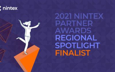 "Hub Collab finaliste des Nintex Partner Awards 2021 – Catégorie ""Regional Spotlight – Europe Middle East and Africa"""