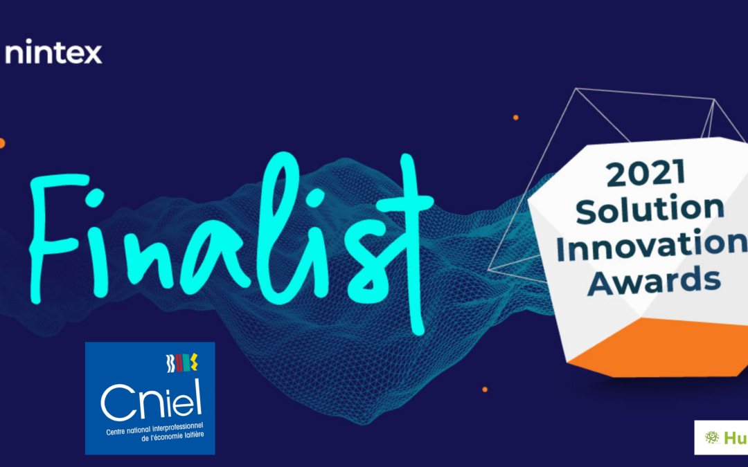 Le CNIELnomméfinalistedesNintex Solution Innovation Awards2021