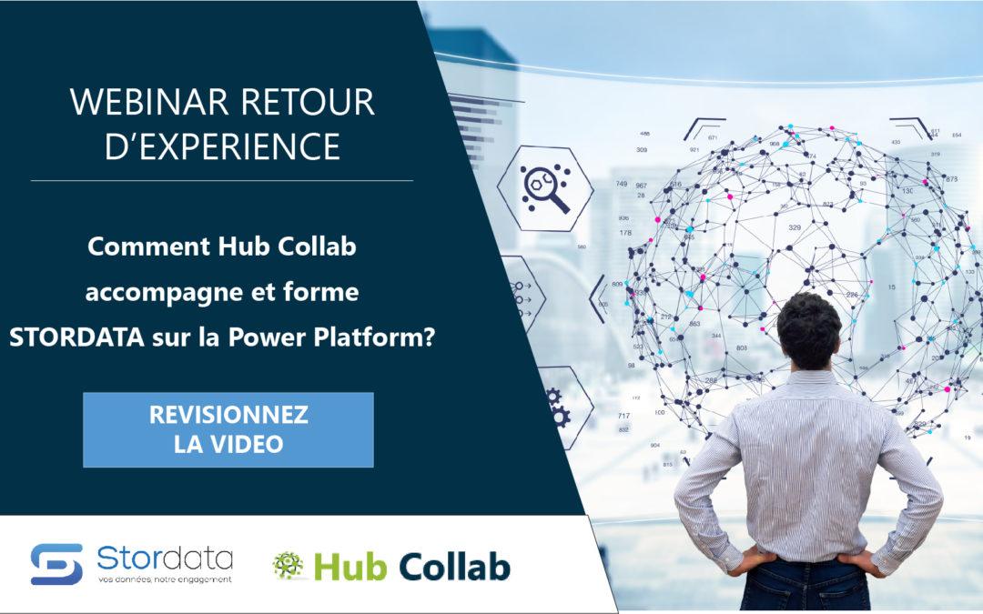 [Vidéo Retour d'Expérience] – Comment Hub Collab accompagne et forme les équipes STORDATA sur la Power Platform
