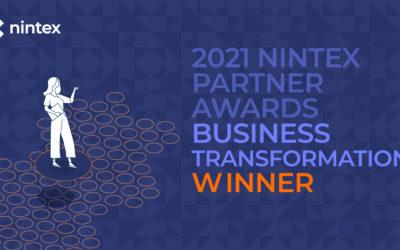 Hub Collab élu Partenaire Nintex de l'année 2021