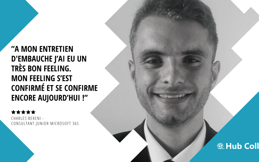 [Meet the Team] Rencontrez Charles Bereni – Consultant Junior Microsoft 365